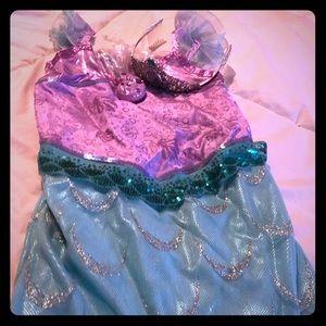 Beautiful little mermaid costume worn once.